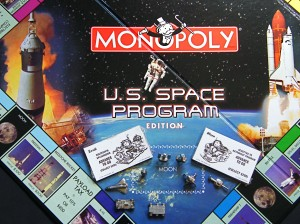 Monopoly: U.S. Space Program edition, Parker Bros.:Hasbro