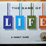 Life, The Game of; box; 1960, Milton Bradley