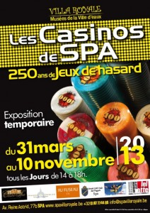 La Casinos de Spa exhibition